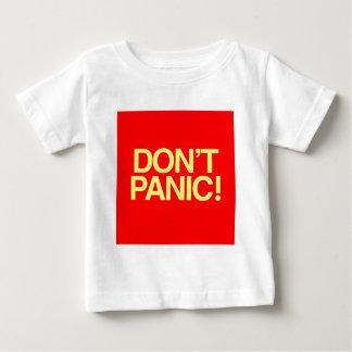 パニックに陥らないで下さい ベビーTシャツ