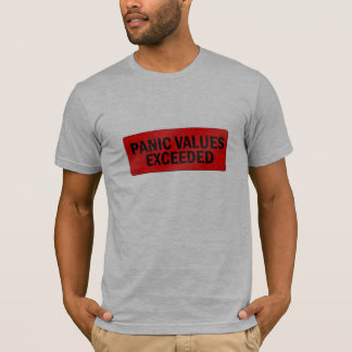 パニック価値 Tシャツ