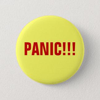 パニック!!! ボタン 5.7CM 丸型バッジ