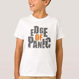 パニックmyspace.com/edgeofpanicの端 tシャツ