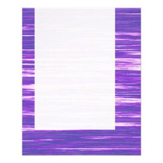 パネル03 -紫色の干渉 チラシ