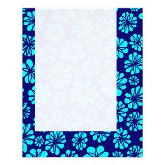 パネル052 -青い花柄の陰 チラシ