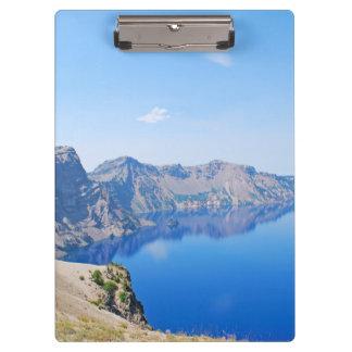 パノラマのcrater湖 クリップボード