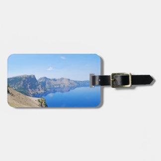 パノラマのcrater湖 ラゲッジタグ