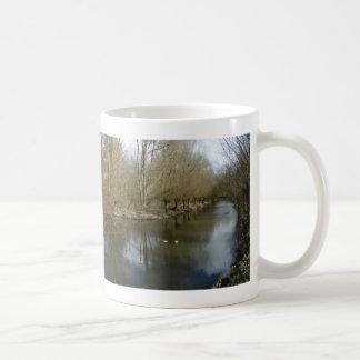 パノラマ式のヤナギのマグ コーヒーマグカップ