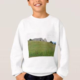 パノラマ式の山景色 スウェットシャツ
