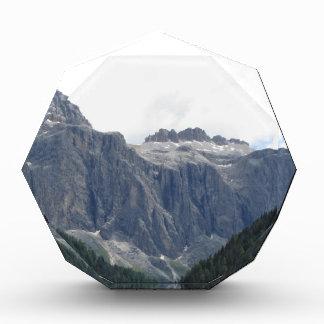 パノラマ式の山景色 表彰盾