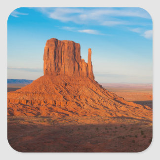 パノラマ式の記念碑の谷のユタの砂漠のミトン スクエアシール