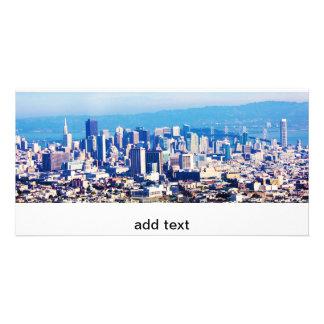 パノラマ式サンフランシスコ都市眺め カード