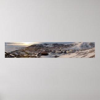 パノラマ式McMurdoの場所 ポスター