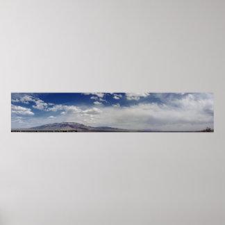 パノラマ式Sandia山 ポスター