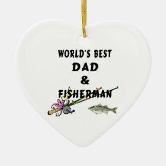 パパおよび漁師 セラミックオーナメント