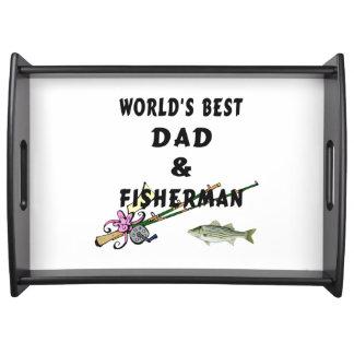 パパおよび魚釣り トレー