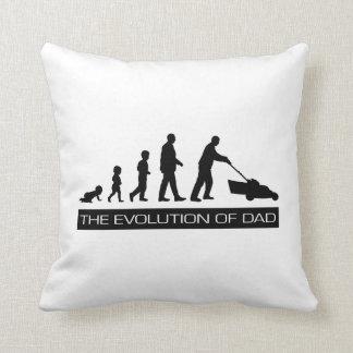 パパのシルエットの進化 クッション