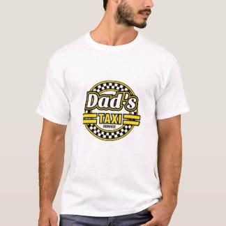 パパのタクシーサービス-おもしろいな父の日のギフト Tシャツ