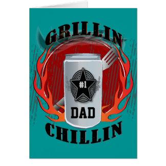 パパのバーベキューGrillinおよびChillinカード カード