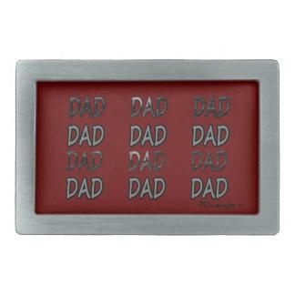 パパのパパのパパのベルトの留め金 長方形ベルトバックル