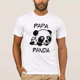 パパのパンダ Tシャツ