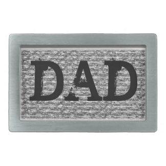 パパのベルトの留め金 長方形ベルトバックル