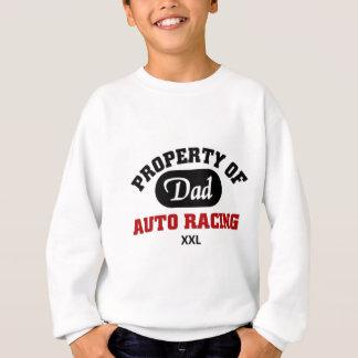 パパのモータースポーツのチームの特性 スウェットシャツ