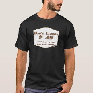パパのレッスン#49: 人のTシャツ(暗い) Tシャツ