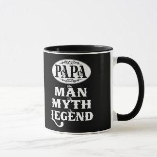 パパの人の神話の伝説 マグカップ