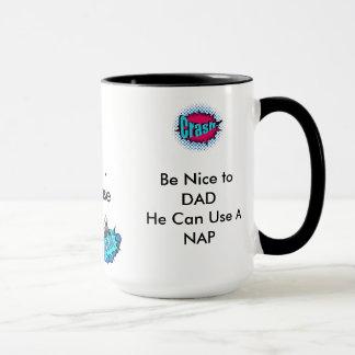 パパの自閉症のマグ マグカップ