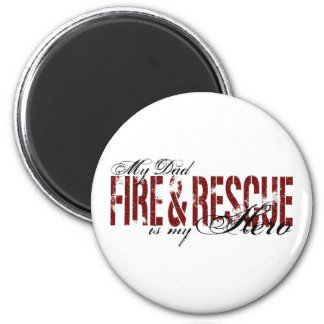 パパの英雄-火及び救助 マグネット
