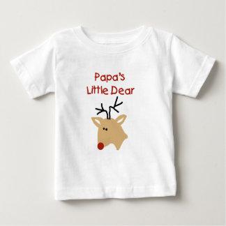 パパの親愛なパパのクリスマス ベビーTシャツ