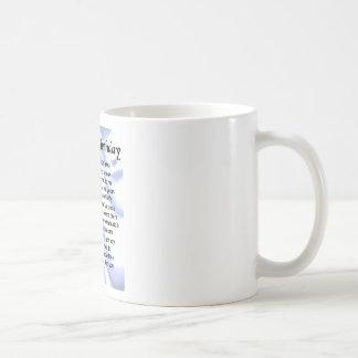 パパの詩の第80誕生日 コーヒーマグカップ