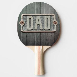パパの金属板の卓球ラケット 卓球ラケット