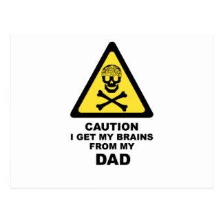 パパの頭脳 ポストカード