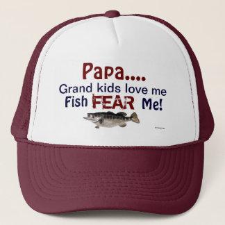 パパの…壮大な子供は私を愛します魚は私を帽子恐れています キャップ