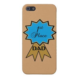 パパのiPhone 5の場合のための最初場所のリボン iPhone 5 Cover