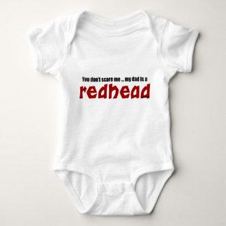 パパは赤毛です ベビーボディスーツ