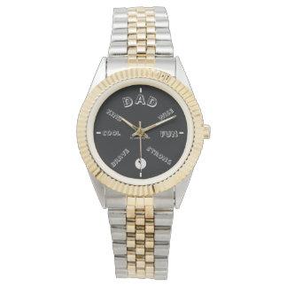 パパを祝って下さい 腕時計