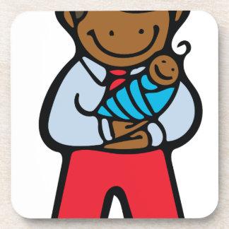 パパ及び赤ん坊 コースター
