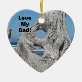 パパ愛して下さい! 最も最高のな海をあなたは飾って下さい セラミックオーナメント