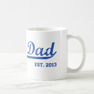 パパ米国東部標準時刻。 2013人の新しいお父さんのベビーの父の日のギフト コーヒーマグカップ