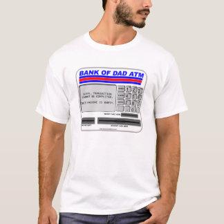 パパ自動支払機の銀行 Tシャツ