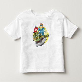 パパ、あなたは私のスーパーヒーロー トドラーTシャツ