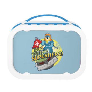 パパ、あなたは私のスーパーヒーロー ランチボックス