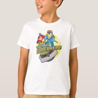 パパ、あなたは私のスーパーヒーロー Tシャツ