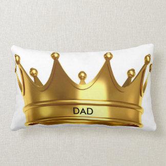 """""""パパ""""の王冠のLUMBARの枕 ランバークッション"""
