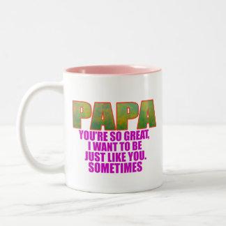 パパ ツートーンマグカップ