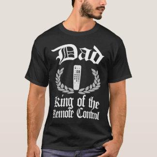 パパ-リモート・コントロールTシャツの王 Tシャツ