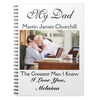 パパ/祖父/夫にノートを愛して下さい ノートブック