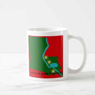 パパNoelを導く篝火 -- ルイジアナのクリスマス コーヒーマグカップ