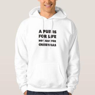 パブはクリスマスの生命の間ちょうどあります パーカ