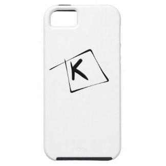 パブロA. Cuadra著手紙K iPhone SE/5/5s ケース